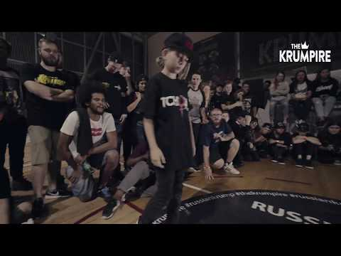 EBS RUSSIA | LADY WHIPHEAD VS PRINCESS TCHOZN | 1/2 FINAL | THE KRUMPIRE 3