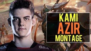 Kami Azir Montage   Best Azir Plays [IRIOZVN]