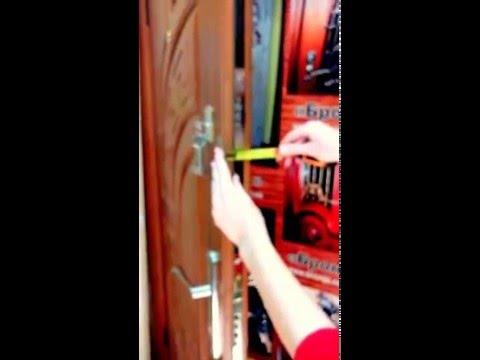 Двери входные металические два варианта на bronja.com.ua
