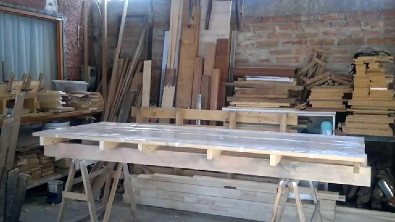 Como hacer puertas de interior en mdf 2 youtube - Hacer una puerta de madera ...