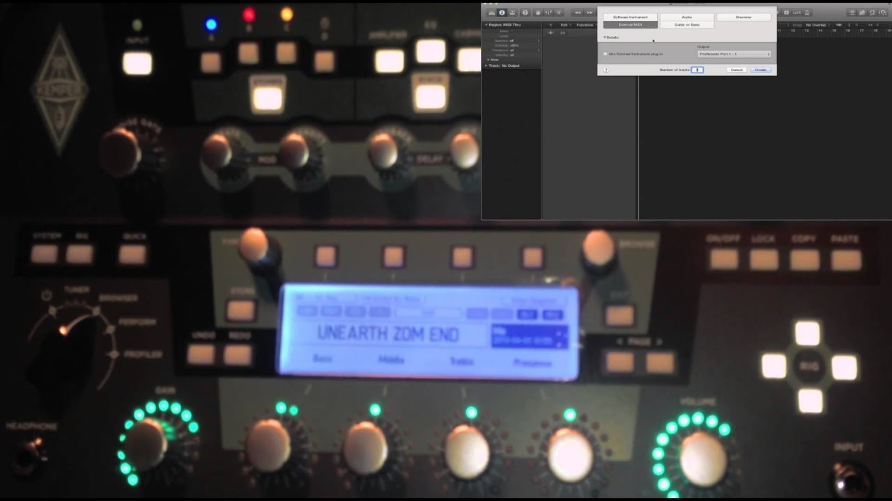 Kemper midi automation thread - Share tips and tricks