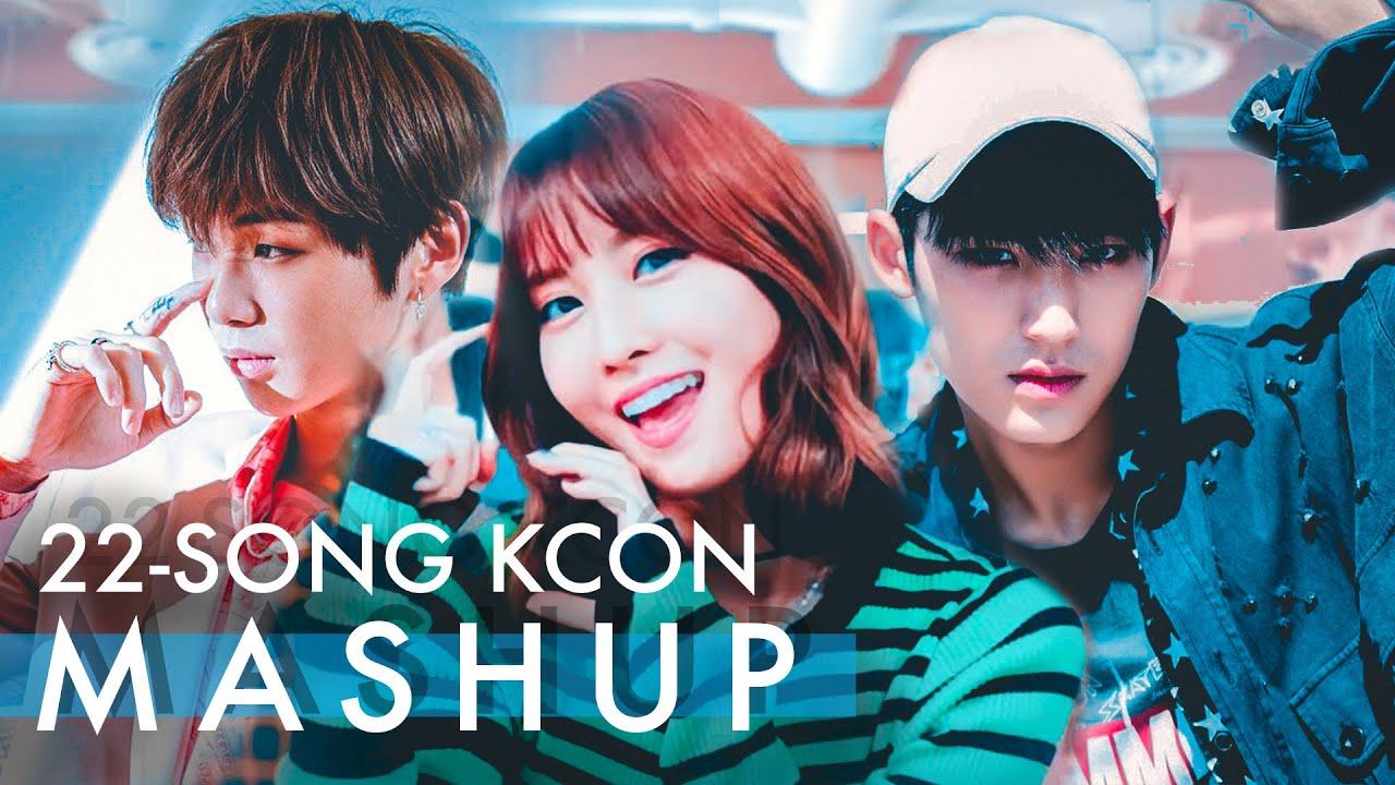 [KCON 2018 LA] Official KCON Artist Mashup (22 Song K-Pop Mashup)