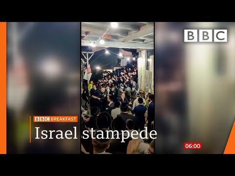 Dozens killed in Israeli religious festival crush @BBC News live 🔴 BBC