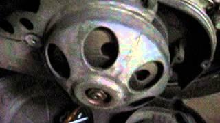 Suzuki Burgman an 250 98 Stuki przy odpalaniu