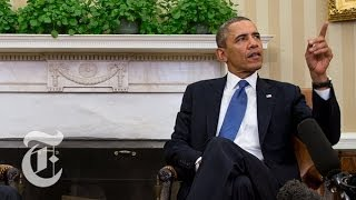 Obama: Russia Violated International Law in Ukraine | The New York Times