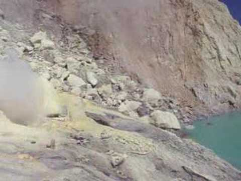 Kawah Ijen Volcano - Sulfur Mining #1