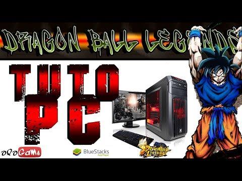 Dragon Ball Legends  - COMMENT JOUER SUR PC -  TUTO [FR]