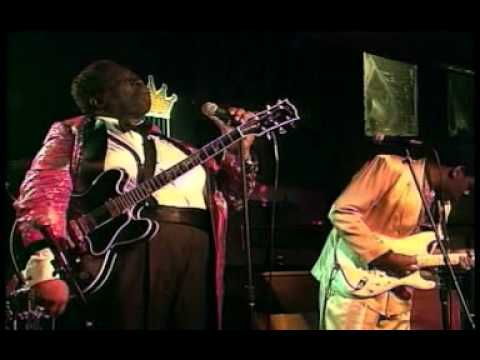 A+++   Blues   BB King & Joe Louis Walker - T-Bone Shuffle (Blues Summit 1993).mpg