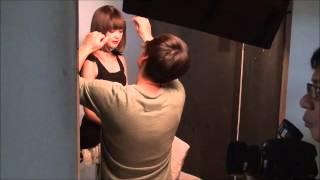 大注目モデルの玉城ティナちゃん エンジェルハートの広告撮影現場です☆ ...