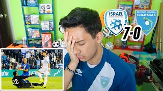 ISRAEL 7-0 GUATEMALA | REACCIÓN A LA GOLEADA | NiMuyAngel