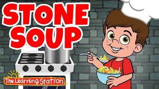 The Learning Station put the classic story of Stone Soup into an engaging, fun song that teaches children all about vegetables and other ingredients needed to ...