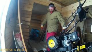ОНДА снегоуборщика champion st 656