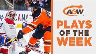 NHL Plays of the Week: McDavid Single-Handedly Embarrasses Canadiens