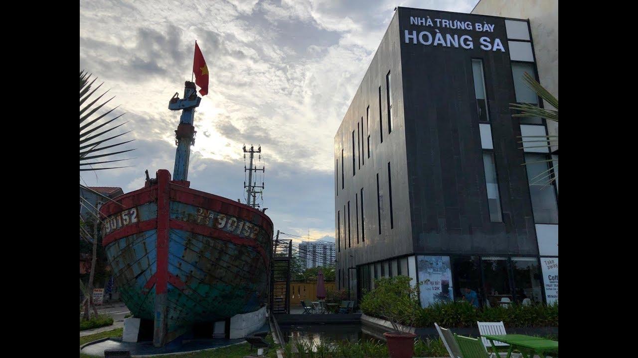 Tham quan Nhà Trưng Bày Hoàng Sa-Đà Nẵng (Place to display datas&images of Paracel Island-Vietnam)