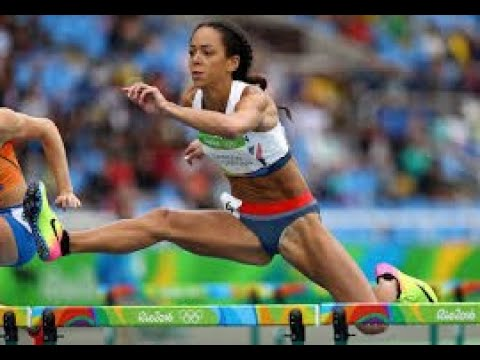 Katarina Johnson-Thompson's medal hopes end with injury in ...