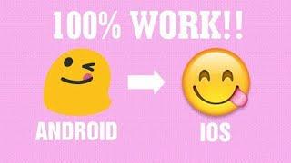 Cara mengganti emoji ANDROID menjadi emoji IPHONE (ROOTED DEVICE)