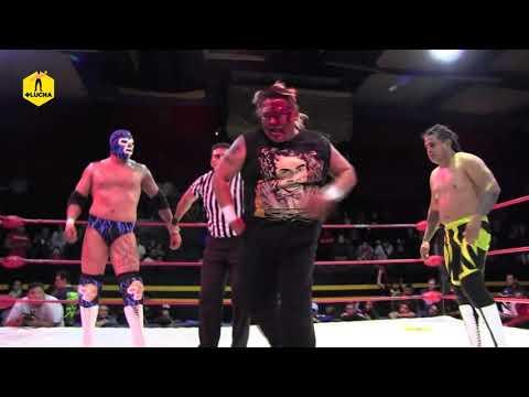 Mosco X- Fly, Hijo del Médico Asesino y Cerebro Negro vs Ovett, Emperador Azteca y El Imposible