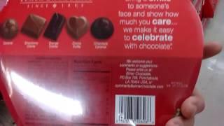 Assorted Chocolates, Happy Valentine