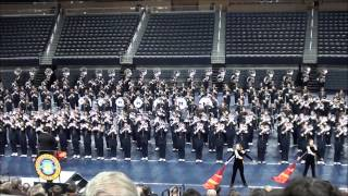 Gonna Fly Now - Michigan Marching Band 2012 @ Crisler Concert