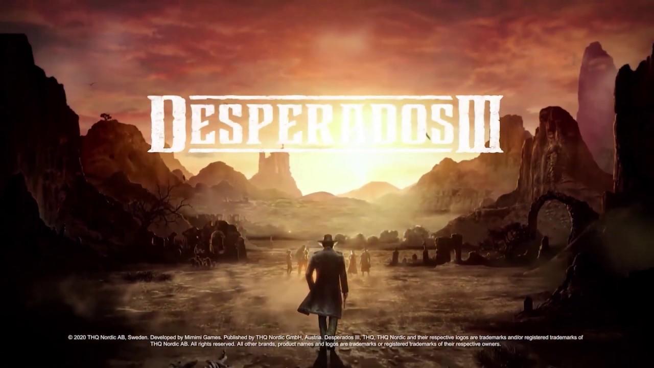 Desperados 3 Gameplay Overview Trailer 1080p Youtube