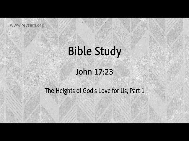 The Heights of God's Love for Us (Part-1)   Jeevan Chelladurai   தேவனுடைய அன்பின் சிகரம் (பகுதி 1)