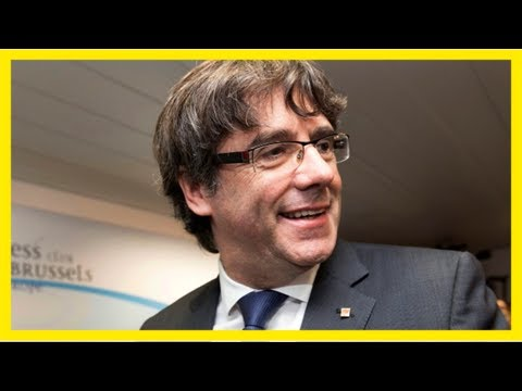 Belgium plans to act on warrant for catalan leader carles puigdemont