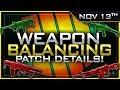 Big SMG Buff, Titan/Maddox Nerf & So MUCH More! | Nov 13th Patch Details