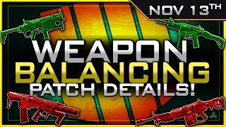 Big SMG Buff, Titan/Maddox Nerf & So MUCH More! | Nov 13th Patch Details thumbnail