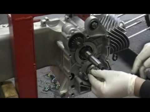GY6 Installation Oil Pump & Starter Clutch