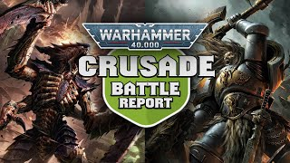 Tyranids vs Space Wolves - Crusade Incursion Warhammer 40k Battle Report Ep 3