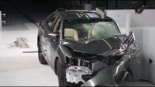 Car Crash Test - 2014 Toyota Camry : Accident Comparison Video