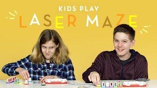 Kids Play Laser Maze (Talbot & Vanessa) | Kids Play | HiHo Kids