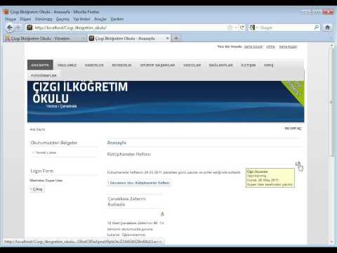 Çizgi TAGEM _ e-Kampüs _ Joomla! 1.6 Temel Eğitimi _ Sitenizi Başlatma ve Ötesi