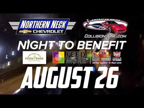 August 26 Northern Neck Chevrolet / Collision One Night Promo