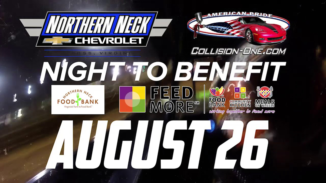 Northern Neck Chevrolet >> August 26 Northern Neck Chevrolet Collision One Night Promo