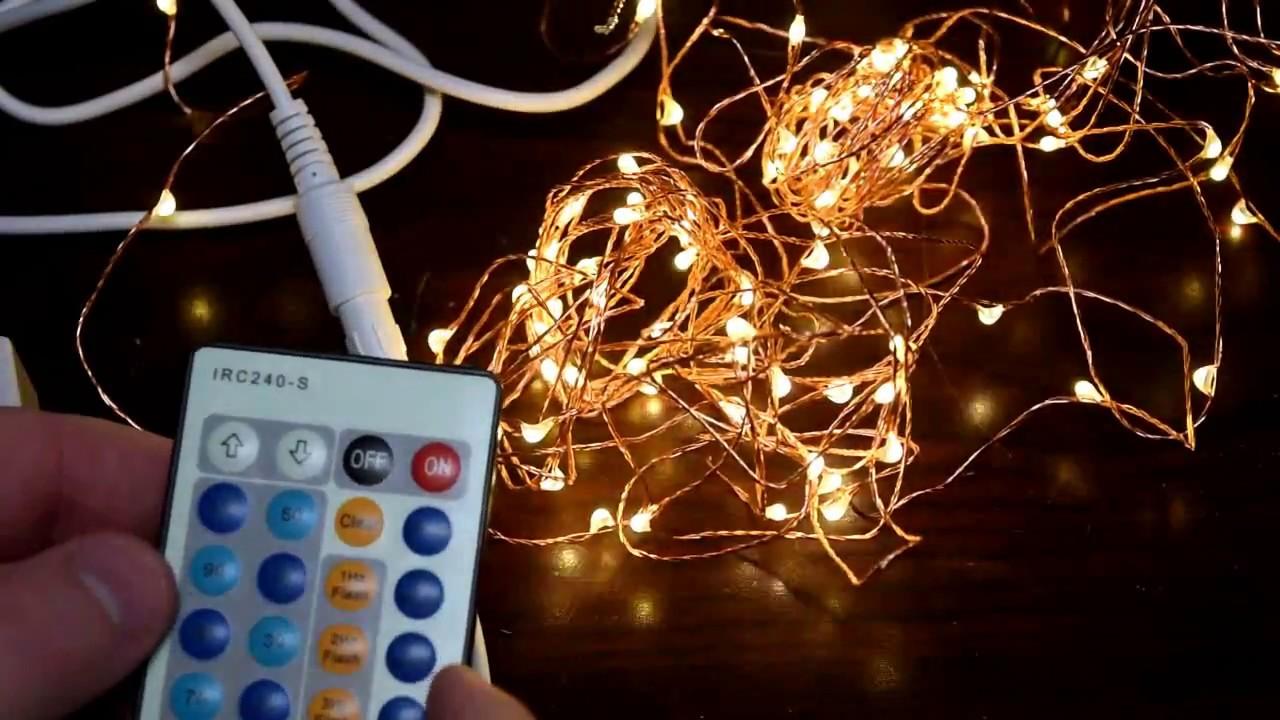 Fairy Light Strand - LED Lights for your stuff - YouTube