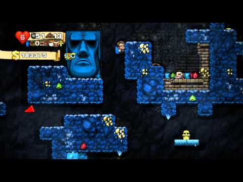 Spelunky Daily Challenge, 10 February, 2014 - With Chris Remo (147)