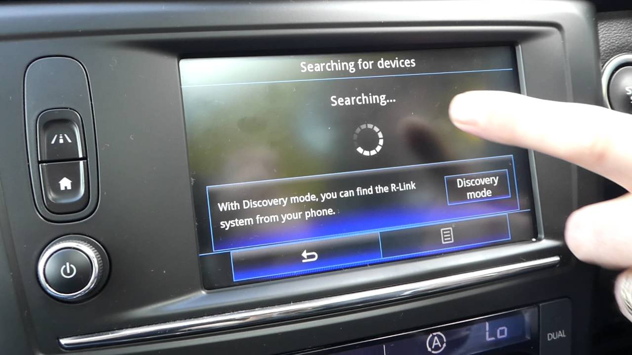 How To Pair Your Phone To Renault Kadjar   Video Guide