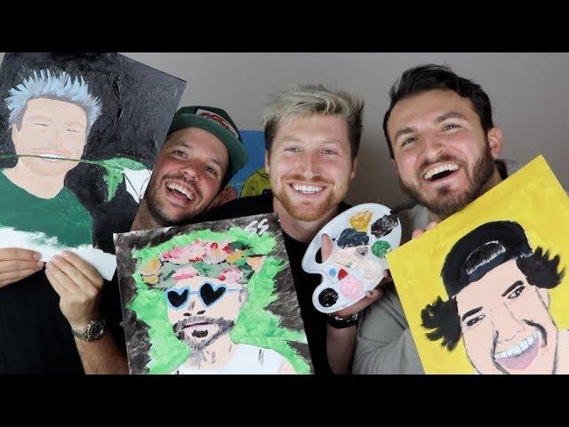 painting-the-vlog-squad-w-zane-heath