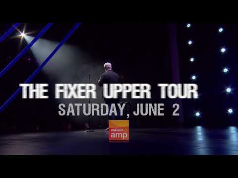 Jim Gaffigan June 2 at the Walmart AMP