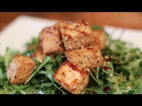 How to Make Tofu Taste Delicious! Crispy Teriyaki