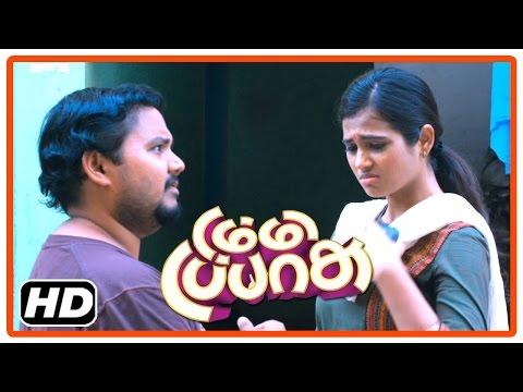 Dummy Tappasu Tamil Movie | Scenes | Ramya Pandian Waits For Praveen Prem At Bus Stand
