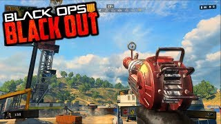 BLACK OPS 4 BLACKOUT - RAY GUN ZOMBIES GAMEPLAY & ZOMBIES EASTER EGGS!!! (Call of Duty Blackout)