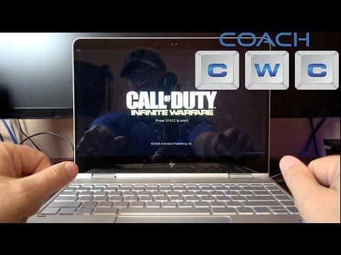 HP Spectre x360 Kaby Lake i7 Gaming Call of Duty Infinite Warfare