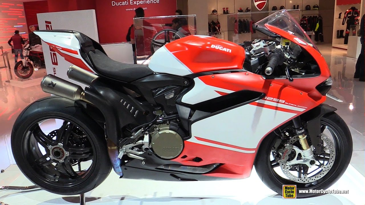 2017 ducati 1299 superleggera - walkaround - debut at 2016 eicma