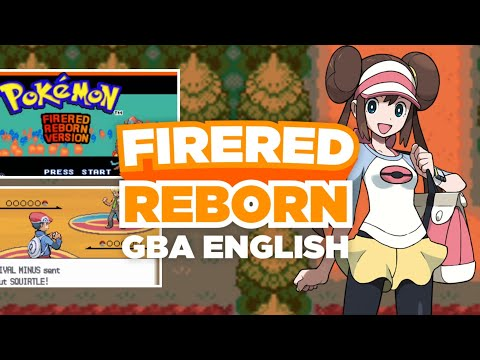 Pokemon Fire Red Reborn - GBA Rom Hack with NDS Graphics, Changed Characters & More!