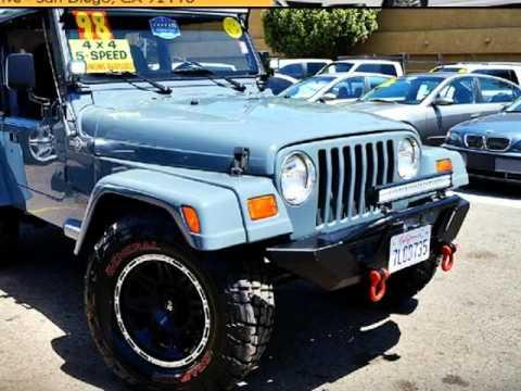 1998 jeep wrangler se 25l 5 speed tj 35 generals pro comp 1998 jeep wrangler se 25l 5 speed tj 35 generals pro comp wheels light bars san diego aloadofball Image collections