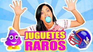 DULCE ROMPE DIENTES y MÁS! Abriendo Juguetes Raros - PLAY con SandraCiresArt