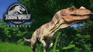 ПЕРВЫЙ ХИЩНИК НА РАЙОНЕ! - Jurassic World Evolution / Эпизод 2