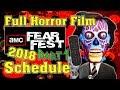 AMC FEAR FEST 2018: Full Horror Film Schedule (PART 1)